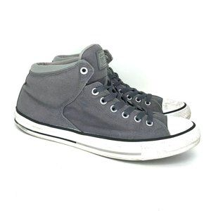 Converse Mens 155470C Gray Sneaker Shoes Size 10.5